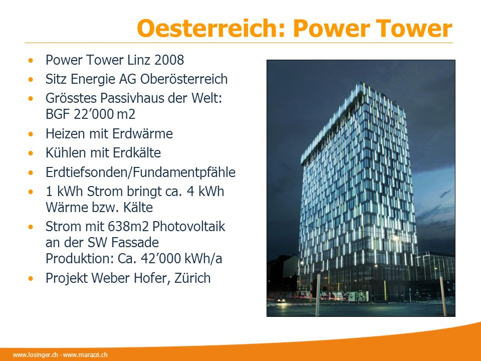 Oesterreich: Power Tower