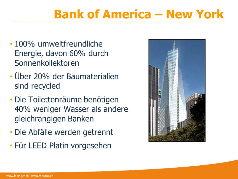 Bank of America – New York
