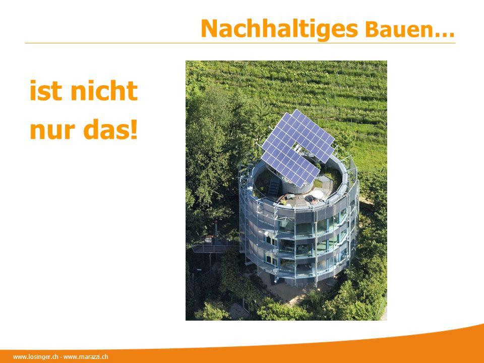 ist nicht nur das! Nachhaltiges Bauen…