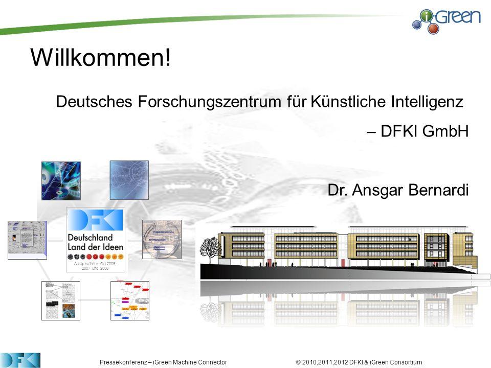 Deutsches Forschungszentrum für Künstliche Intelligenz – DFKI GmbH