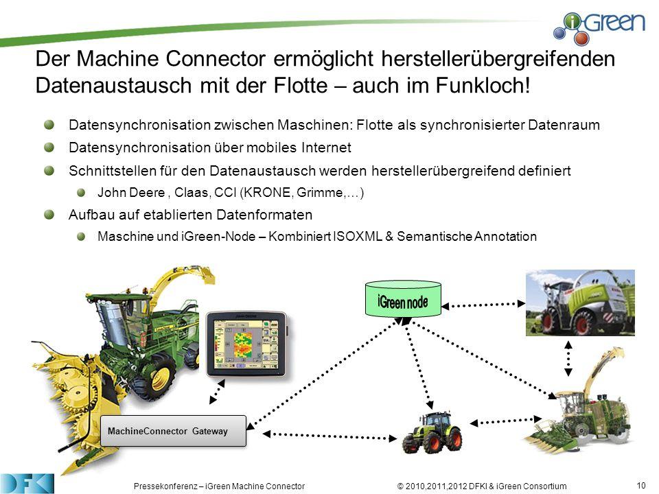 Der Machine Connector ermöglicht herstellerübergreifenden Datenaustausch mit der Flotte – auch im Funkloch!
