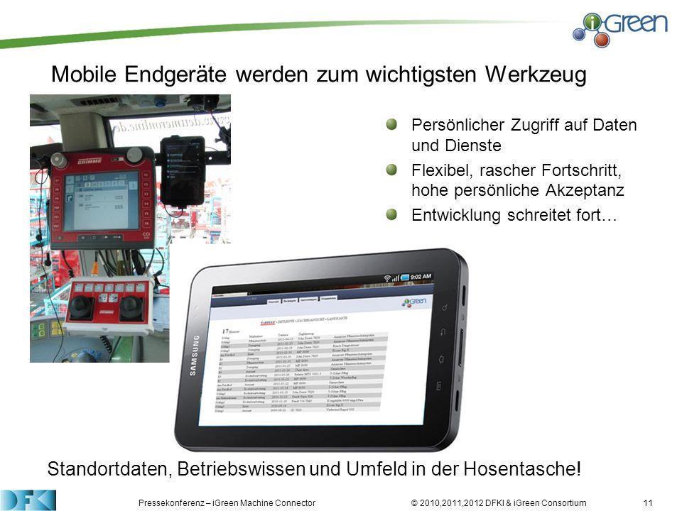 Mobile Endgeräte werden zum wichtigsten Werkzeug