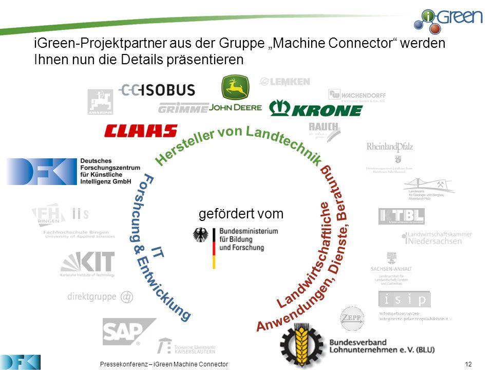 Hersteller von Landtechnik IT Forshcung & Entwicklung