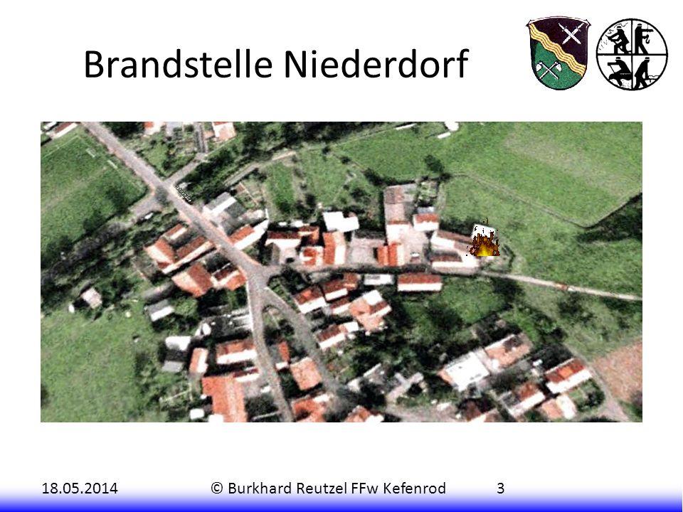 Brandstelle Niederdorf