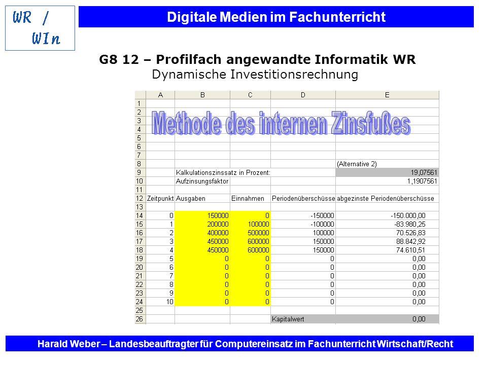 G8 12 – Profilfach angewandte Informatik WR