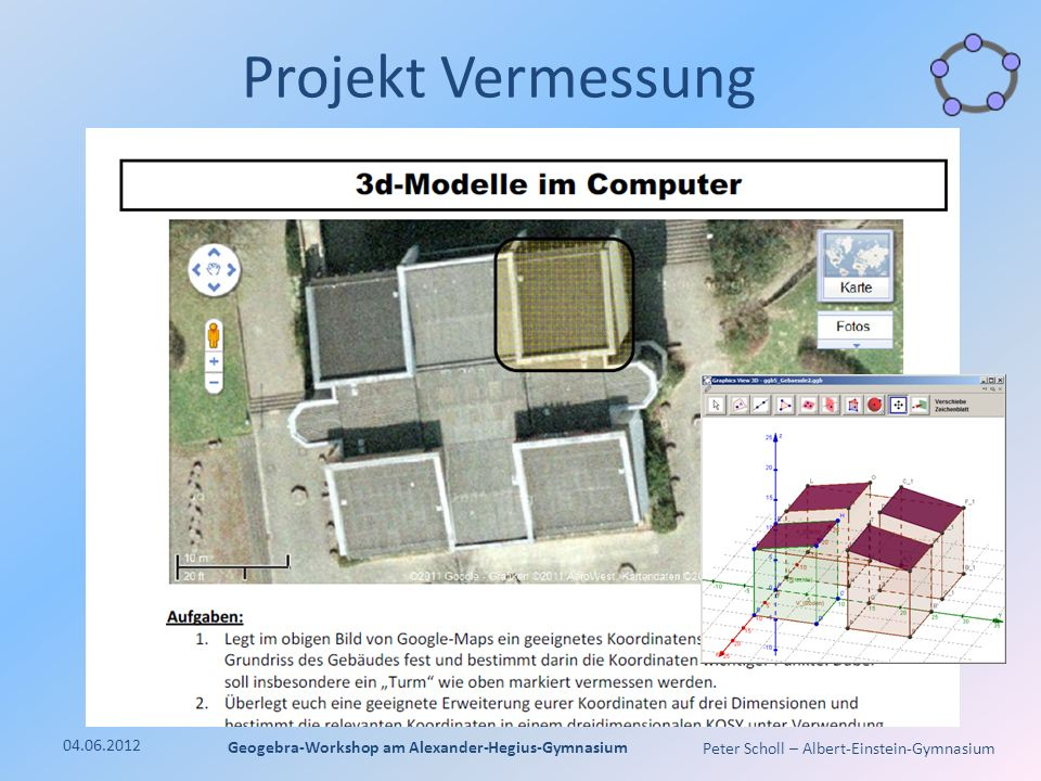 Geogebra-Workshop am Alexander-Hegius-Gymnasium