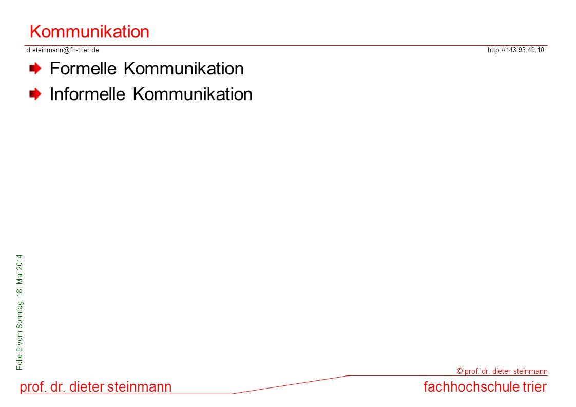 Kommunikation Formelle Kommunikation Informelle Kommunikation