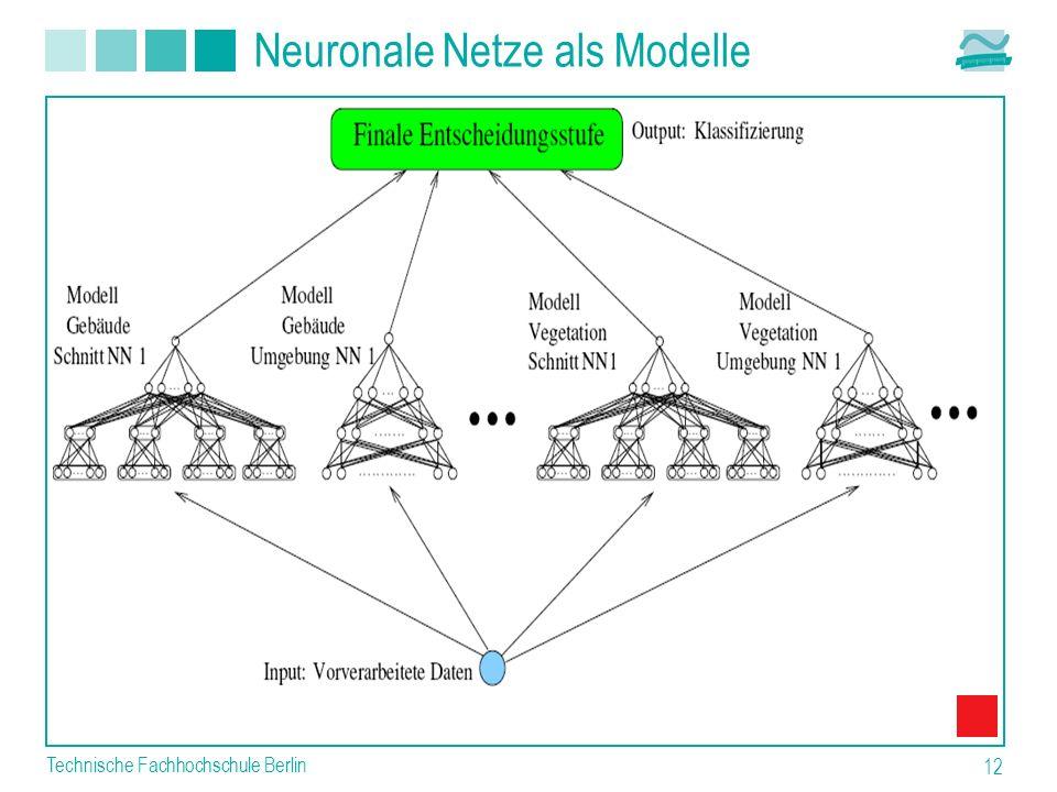Neuronale Netze als Modelle