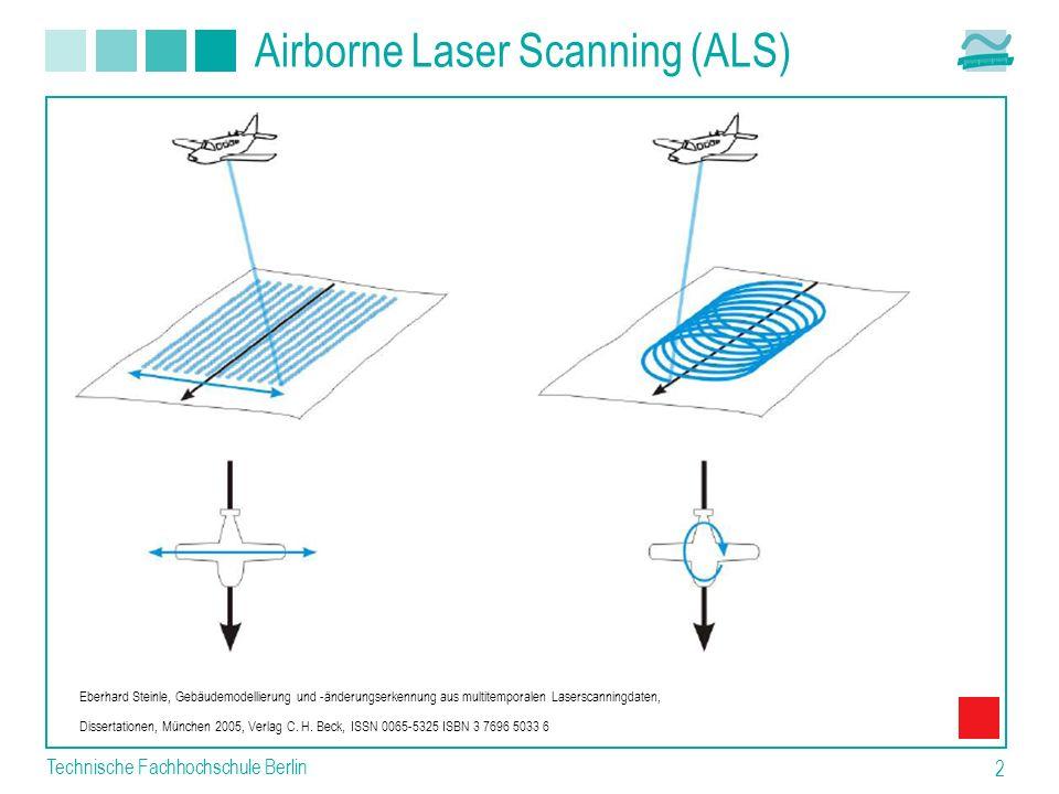Airborne Laser Scanning (ALS)