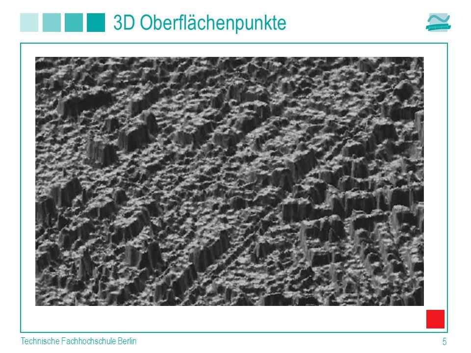 3D Oberflächenpunkte Technische Fachhochschule Berlin