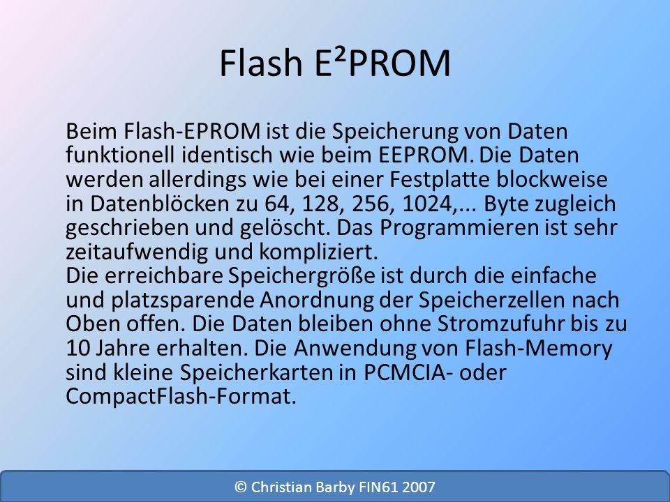 Flash E²PROM