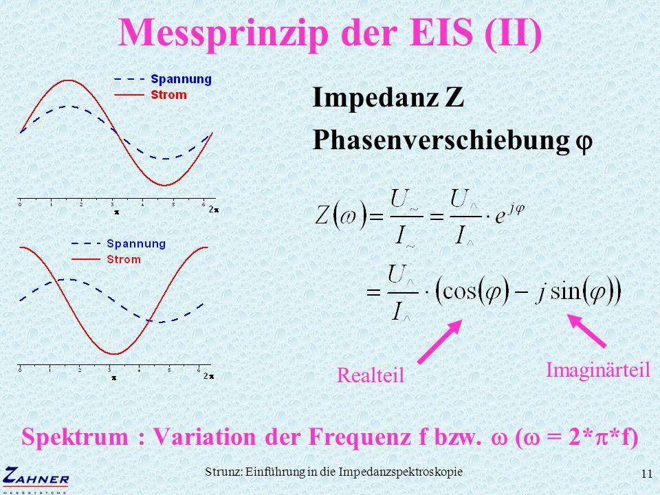 Messprinzip der EIS (II)