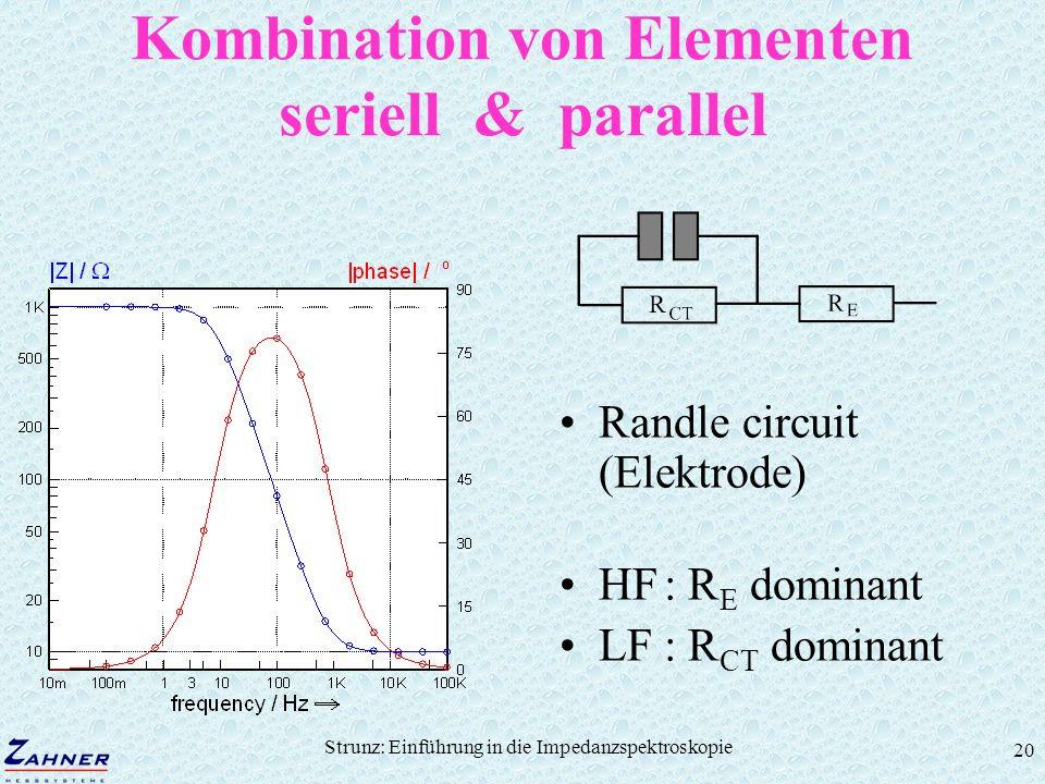 Kombination von Elementen seriell & parallel