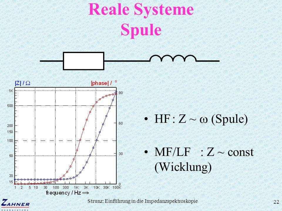 Strunz: Einführung in die Impedanzspektroskopie