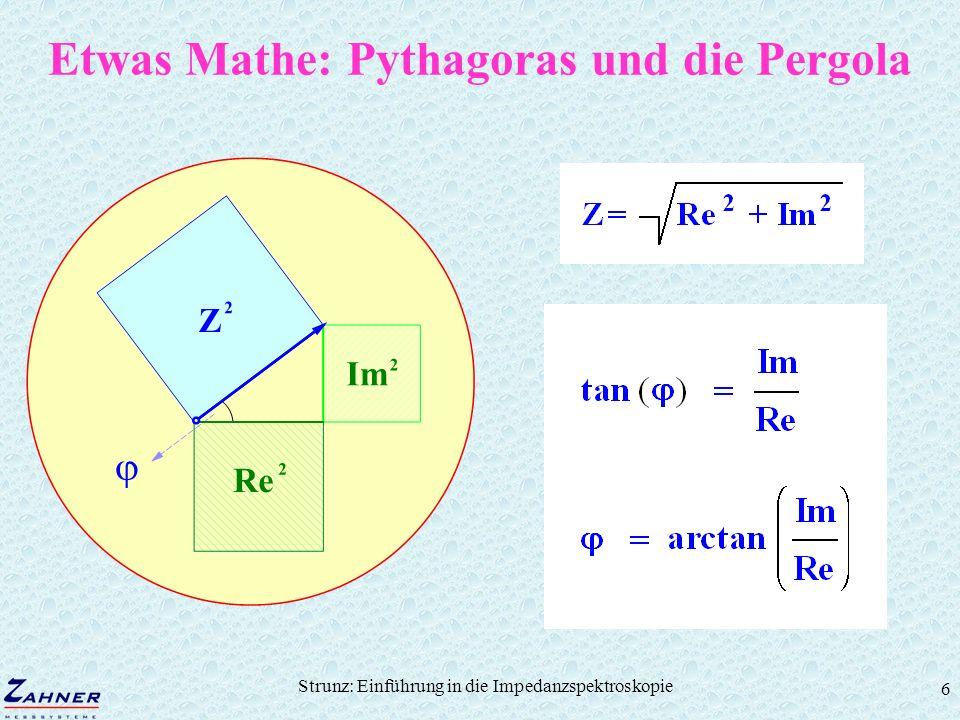 Etwas Mathe: Pythagoras und die Pergola