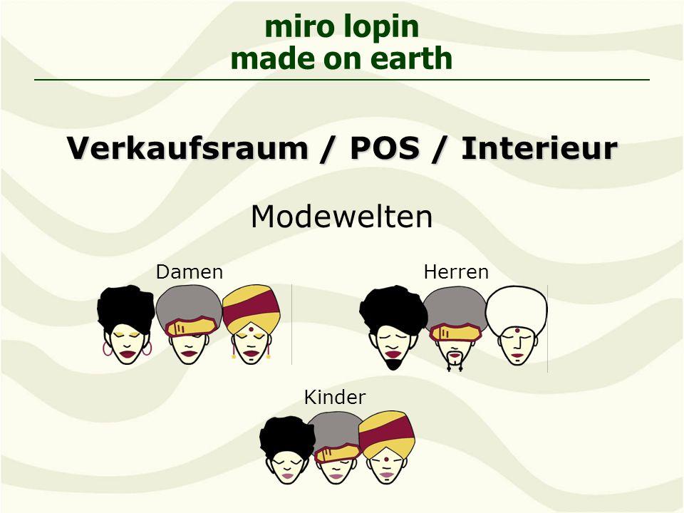 Verkaufsraum / POS / Interieur