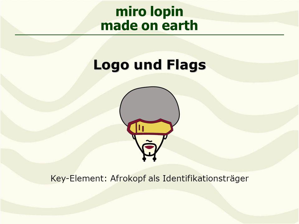 Key-Element: Afrokopf als Identifikationsträger