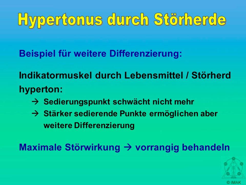 Hypertonus durch Störherde