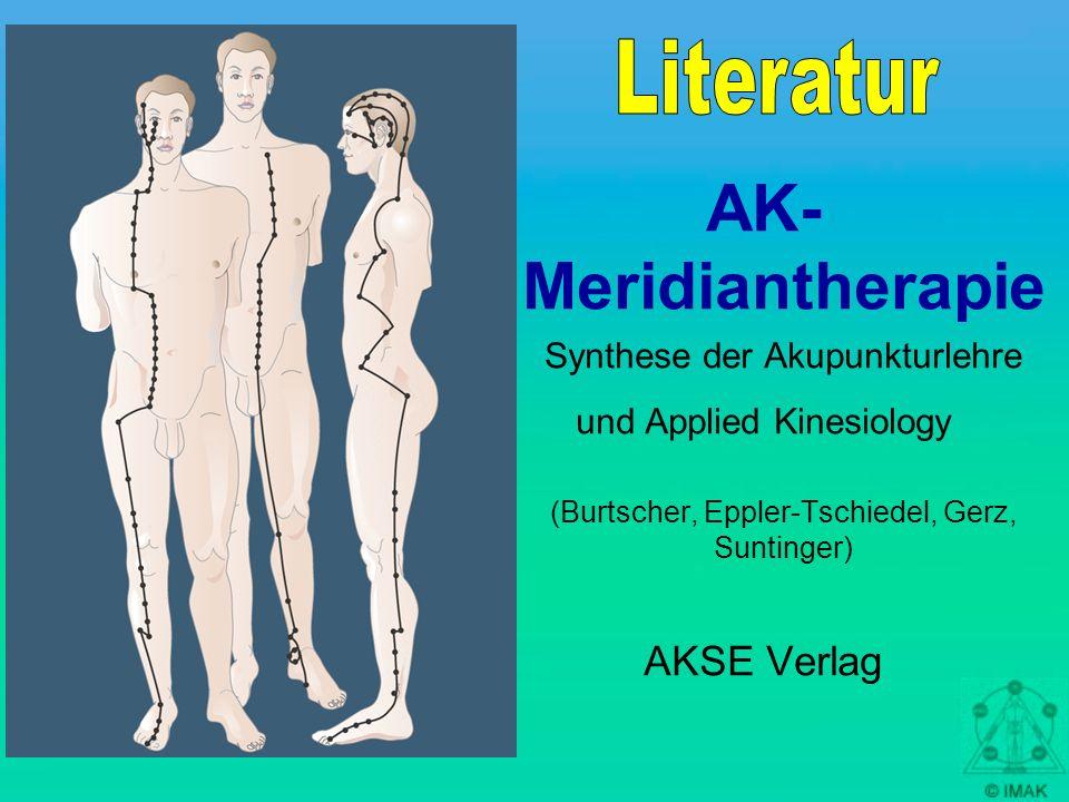 AK-Meridiantherapie Literatur AKSE Verlag Synthese der Akupunkturlehre