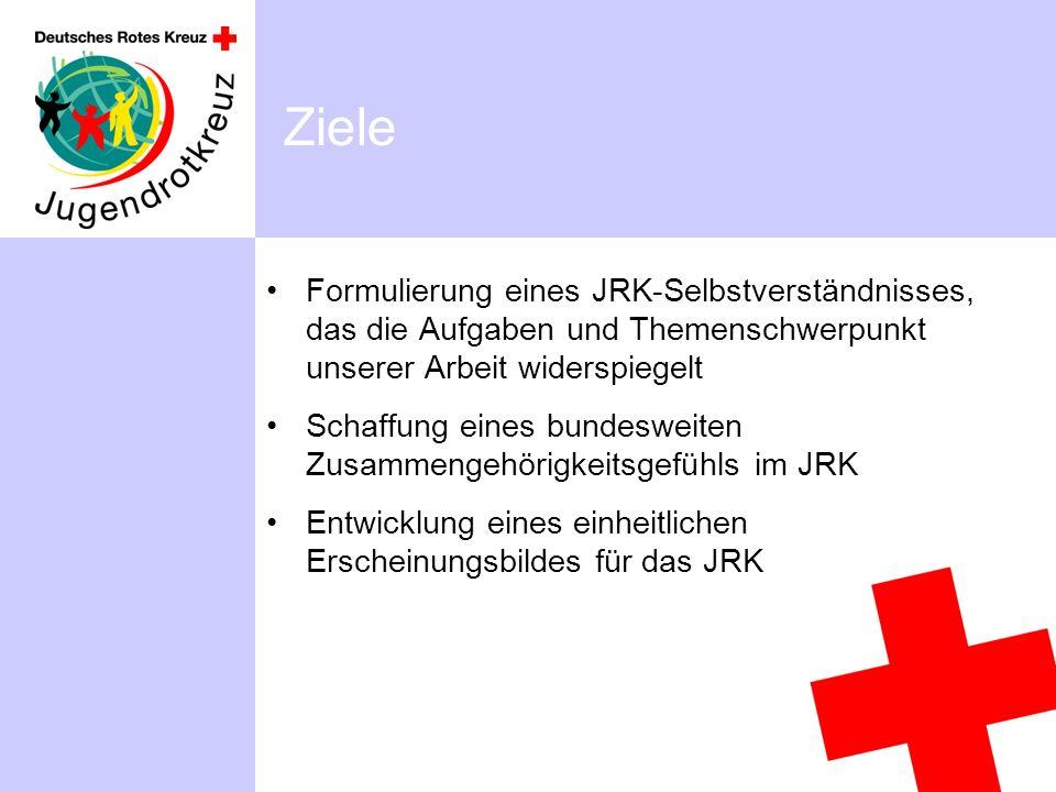 Ziele Formulierung eines JRK-Selbstverständnisses, das die Aufgaben und Themenschwerpunkt unserer Arbeit widerspiegelt.