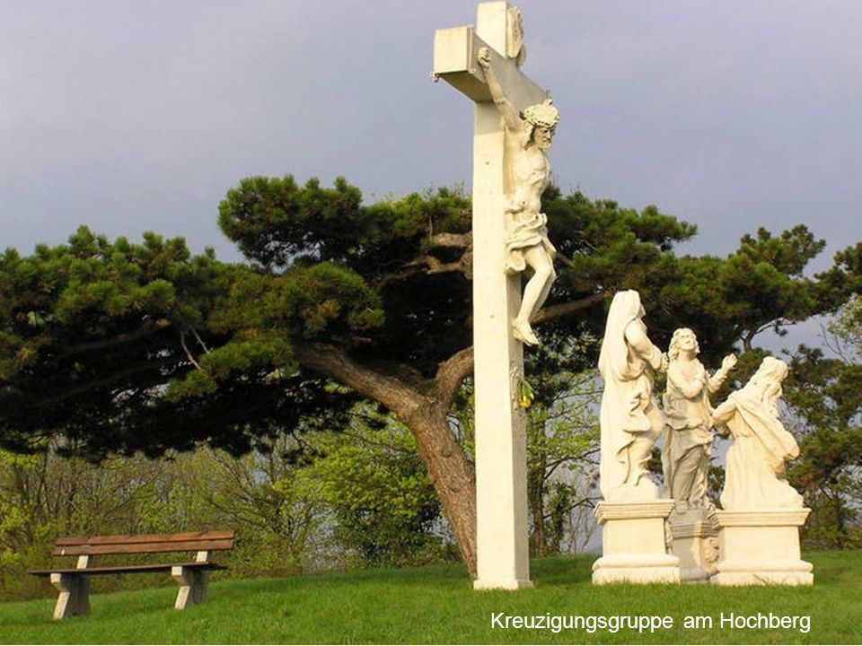 Kreuzigungsgruppe am Hochberg