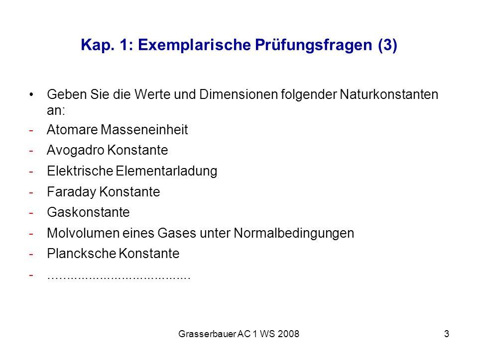 Kap. 1: Exemplarische Prüfungsfragen (3)