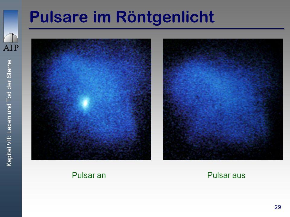 Pulsare im Röntgenlicht