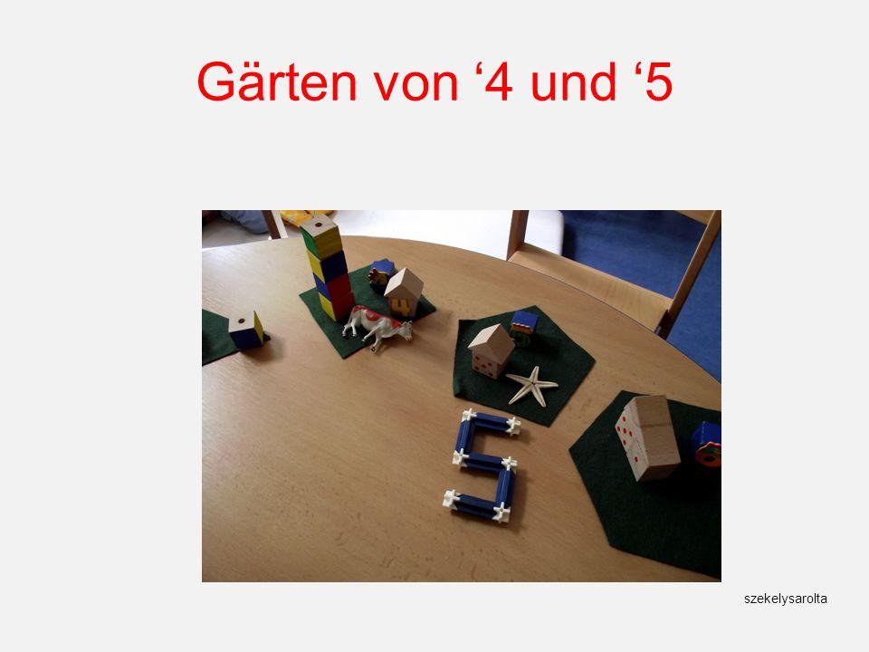 Gärten von '4 und '5 szekelysarolta