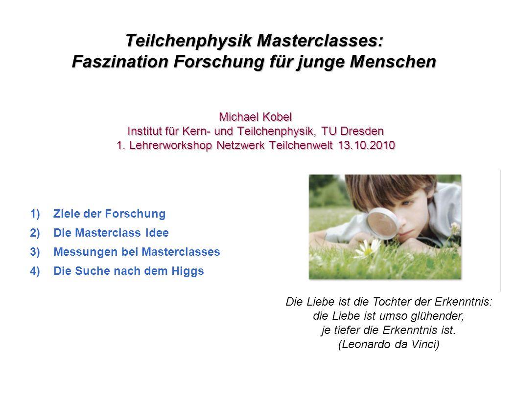 Teilchenphysik Masterclasses: Faszination Forschung für junge Menschen