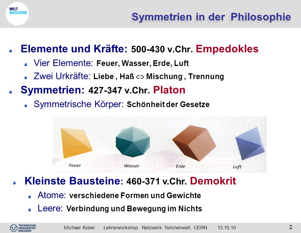 Symmetrien in der Philosophie