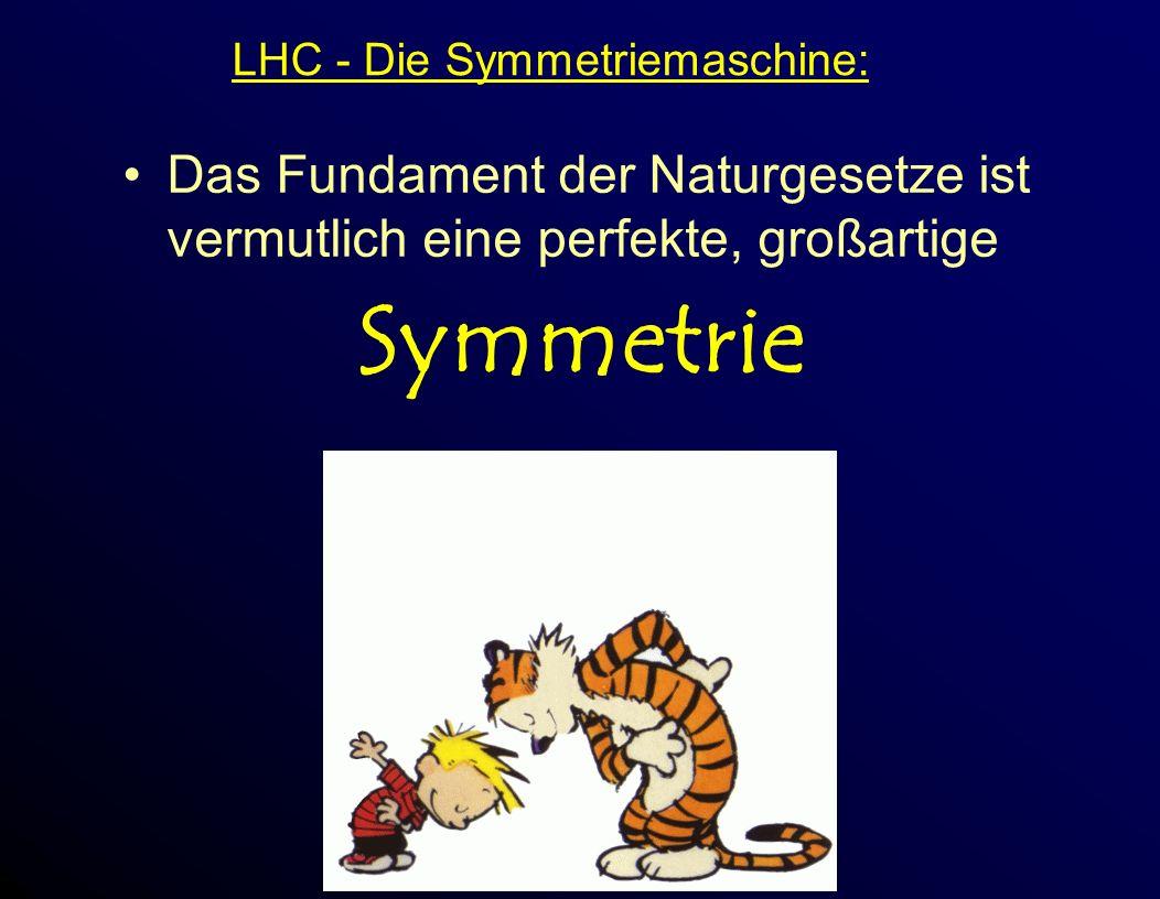 LHC - Die Symmetriemaschine: