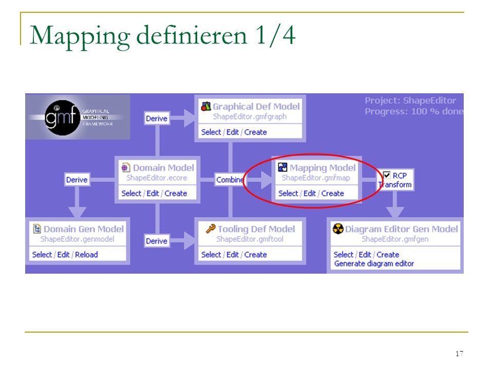 Mapping definieren 1/4 - Visualisierung mit dem Modell verbinden