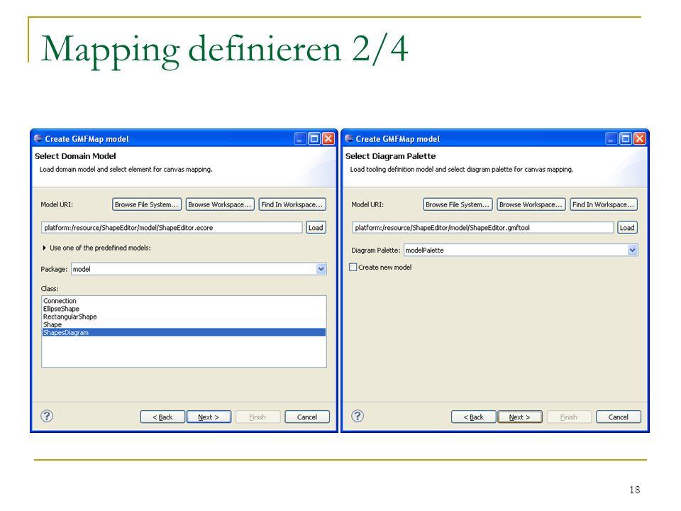 Mapping definieren 2/4