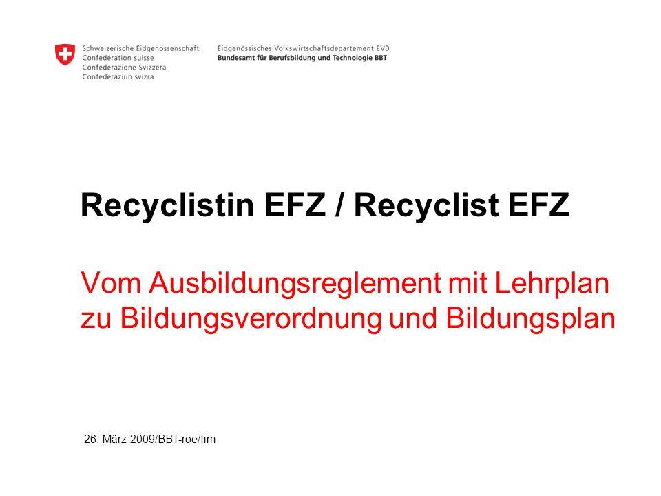 Recyclistin EFZ / Recyclist EFZ