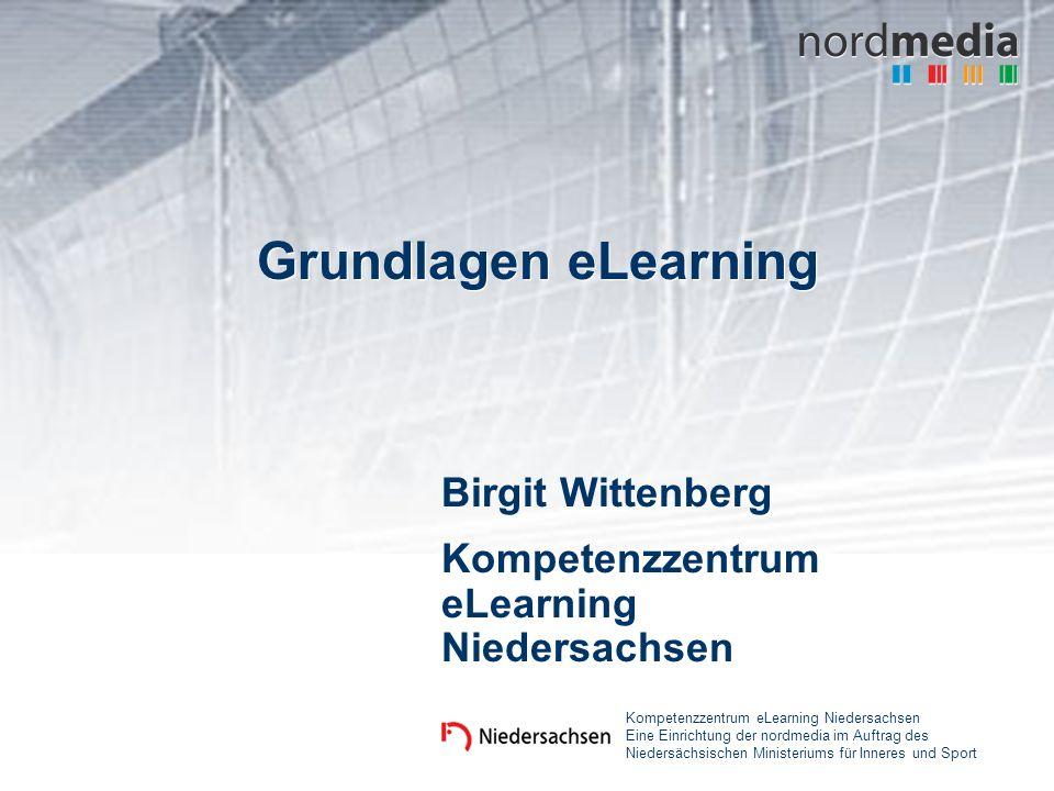 Birgit Wittenberg Kompetenzzentrum eLearning Niedersachsen