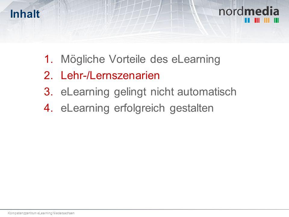 Mögliche Vorteile des eLearning Lehr-/Lernszenarien
