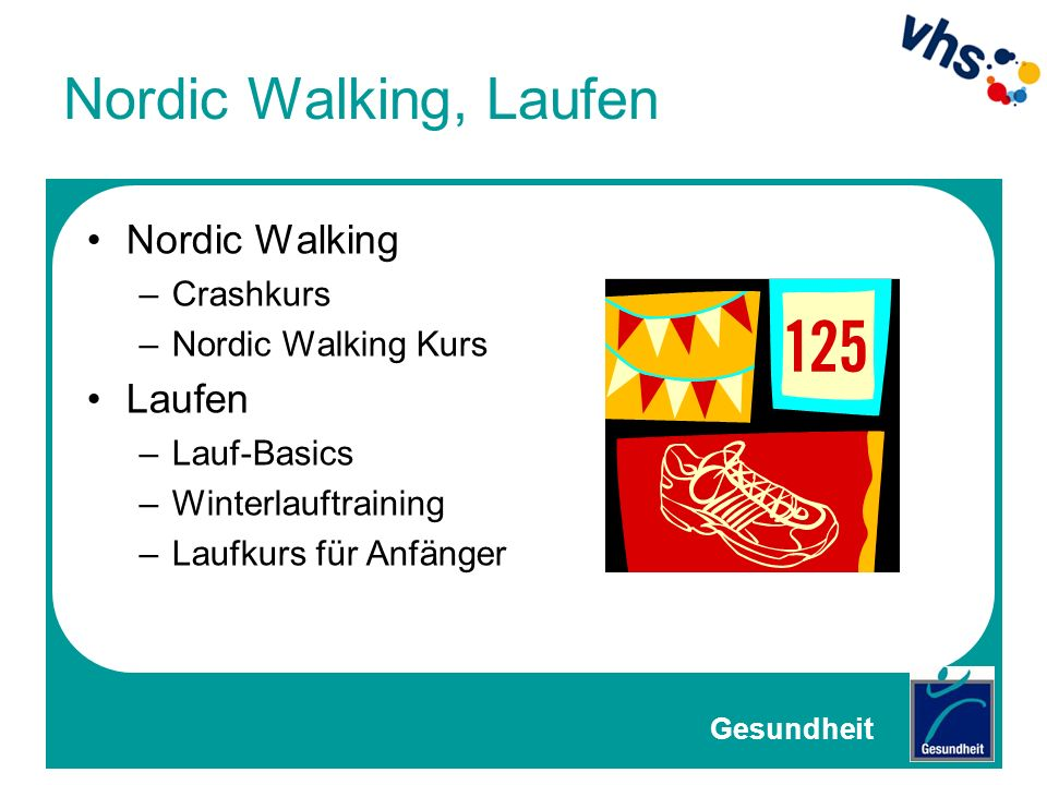 Nordic Walking, Laufen Nordic Walking Laufen Crashkurs