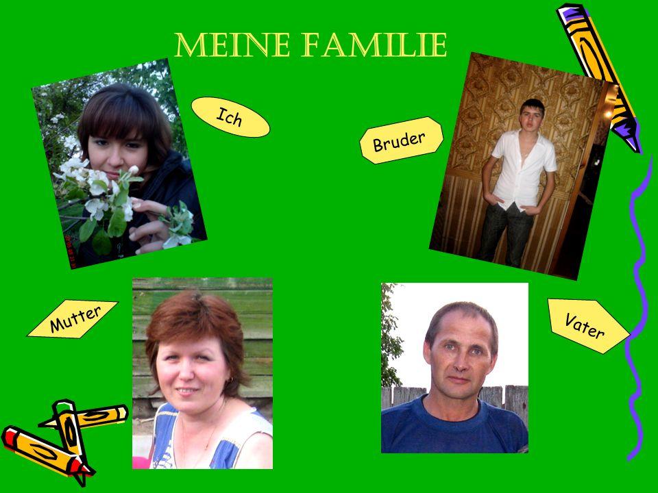 Meine Familie Ich Bruder Mutter Vater