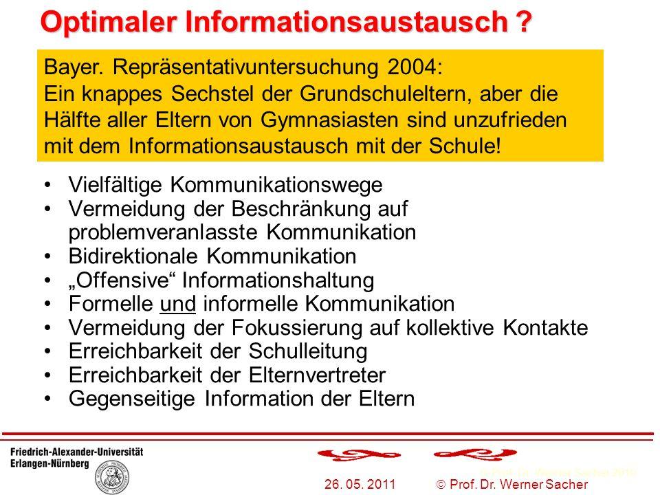 Optimaler Informationsaustausch