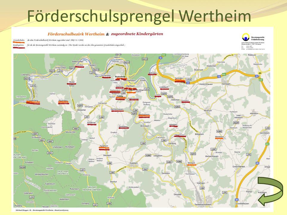 Förderschulsprengel Wertheim