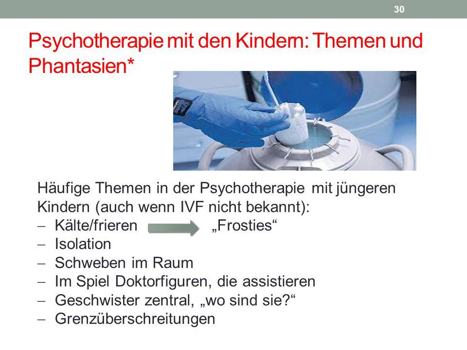 Psychotherapie mit den Kindern: Themen und Phantasien*