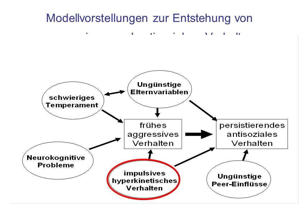 Modellvorstellungen zur Entstehung von aggressivem und antisozialem Verhalten