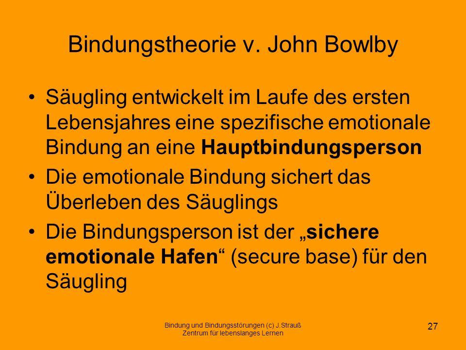 Bindungstheorie v. John Bowlby