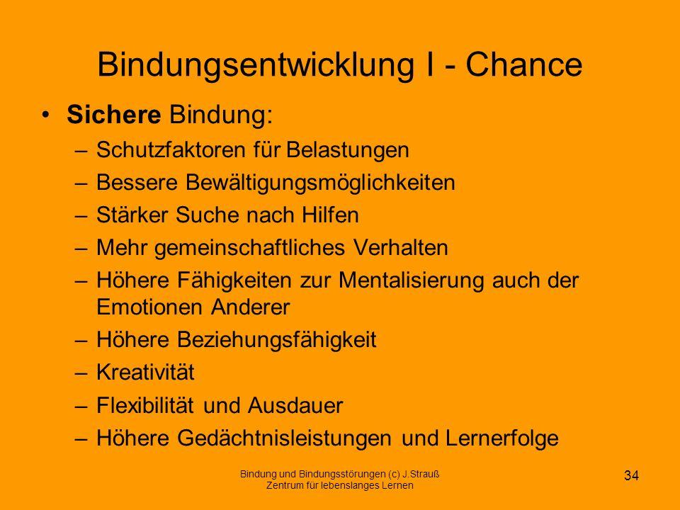 Bindungsentwicklung I - Chance