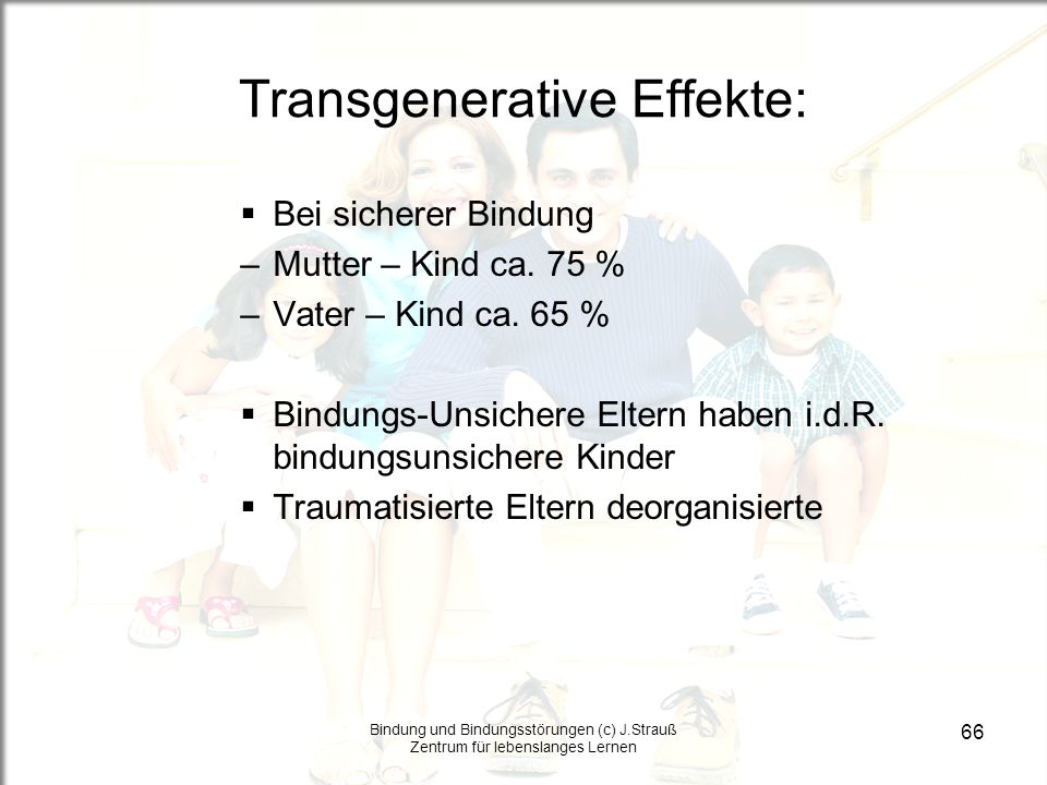 Transgenerative Effekte: