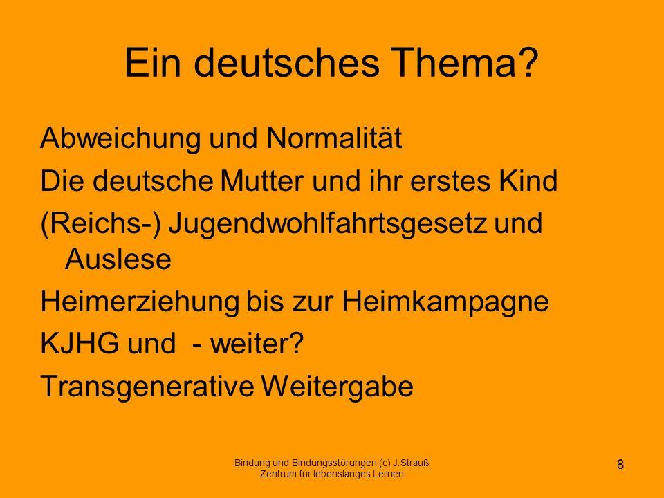 Ein deutsches Thema