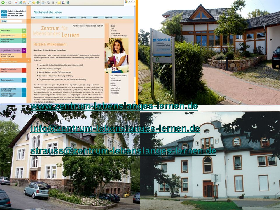 www.zentrum-lebenslanges-lernen.de info@zentrum-lebenslanges-lernen.de.