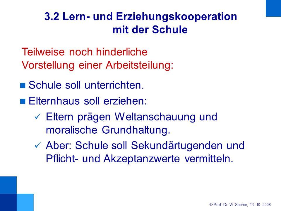 3.2 Lern- und Erziehungskooperation mit der Schule