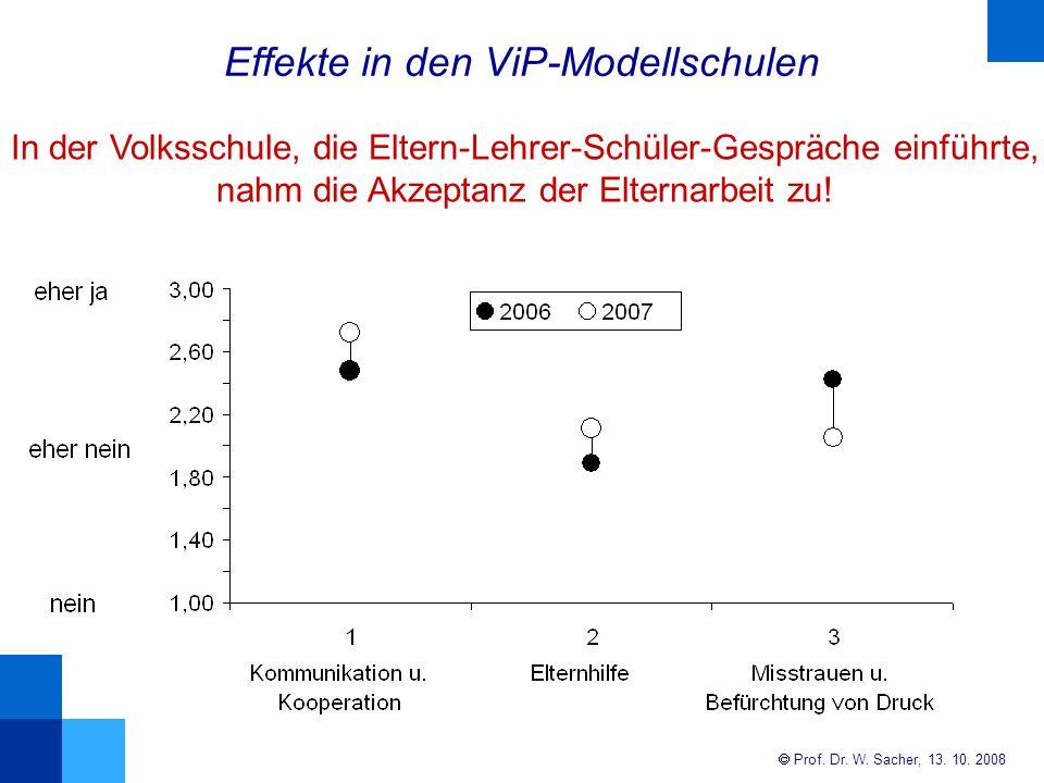 Effekte in den ViP-Modellschulen