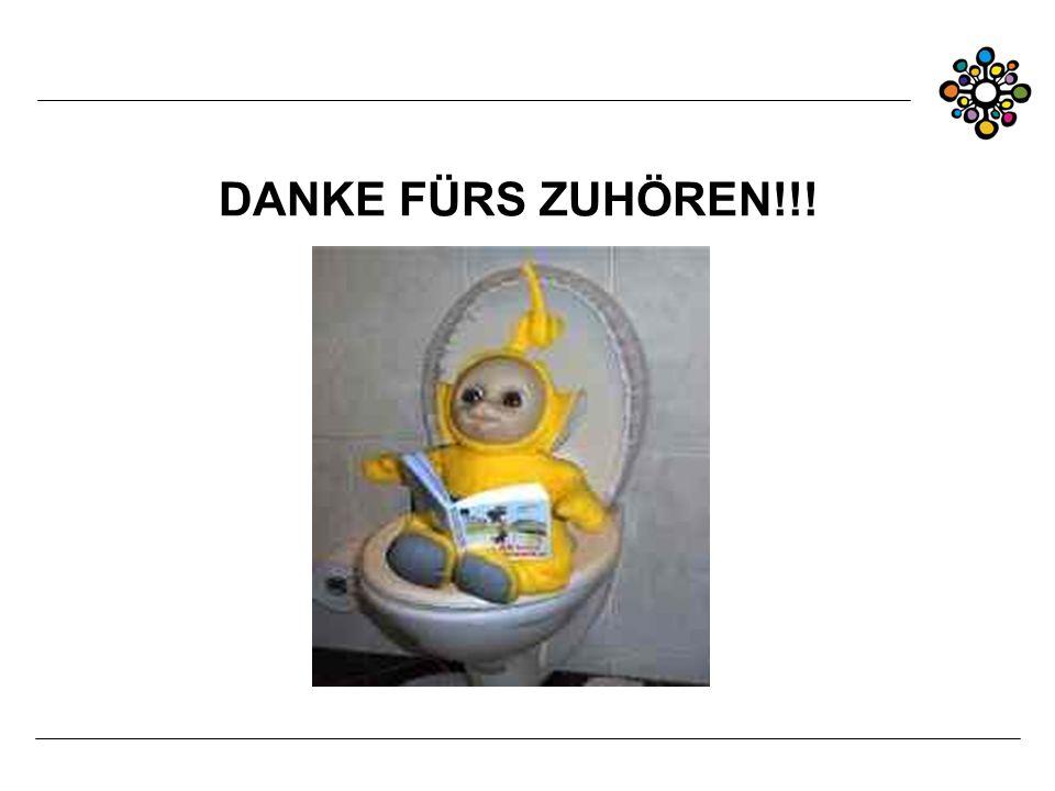 DANKE FÜRS ZUHÖREN!!!